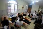 اهدای خون به مناسبت عاشورای حسینی در شهر میانه آذربایجان شرقی