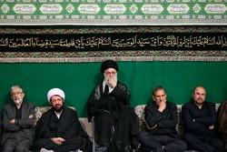 مراسم شب عاشورای حسینیه امام خمینی