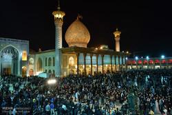 شیراز میں شاہچراغ کے حرم میں عزاداری