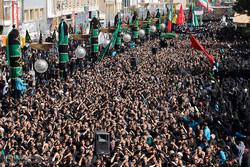 Ashura mourning processions in Qom