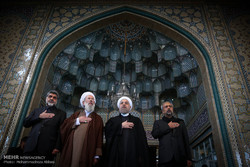 Pres. Rouhani attends Ashura mourning processions