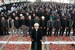 نماز ظهر عاشورا در سراسر خراسان شمالی برگزار شد