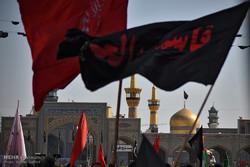 مشهد در غم و اندوه هفتمین امام شیعیان قرار دارد