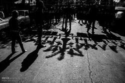 مراسم عزاداری عاشورای حسینی در تبریز