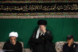 پنجمین شب عزاداری ایام محرم ۱۴۳۸ در حسینیه امام خمینی
