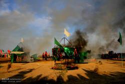 عزاداری نایینیها در شب «بنیاسد»/برگزاری تعزیهخوانی ۱۲ محرم