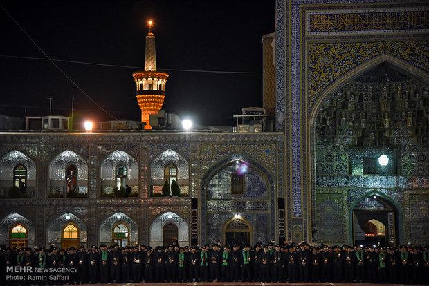 Ashura Sermon Reading rite in Mashhad