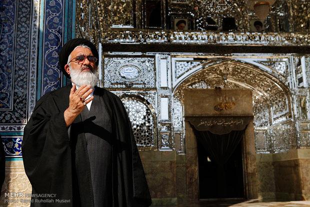 العزاء الحسيني يوم عاشوراء في مدينة قم المقدسة