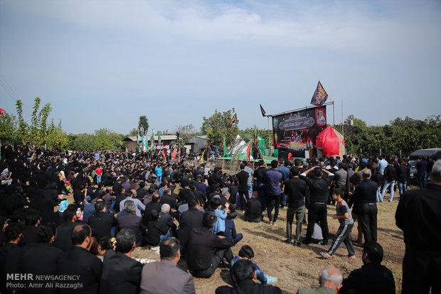 مراسم عزاداری روز عاشورا در دولت آباد و ليمون مازندران