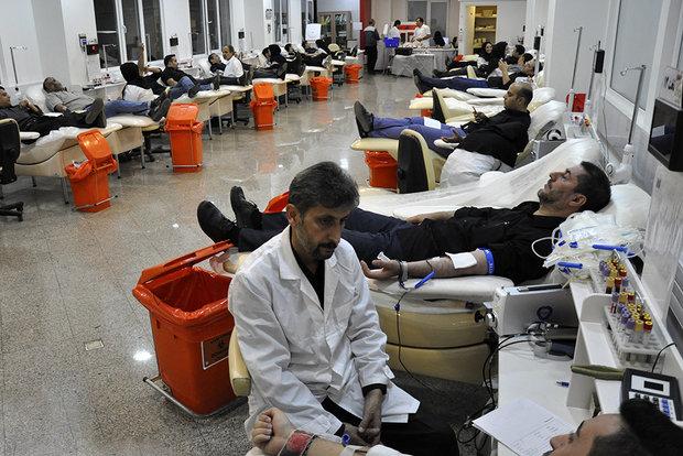 ۹۲۸ نفر در قم خون خود را اهدا کردند
