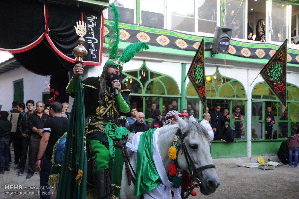 مراسم تعزیه در روستای آب اسک لاریجان