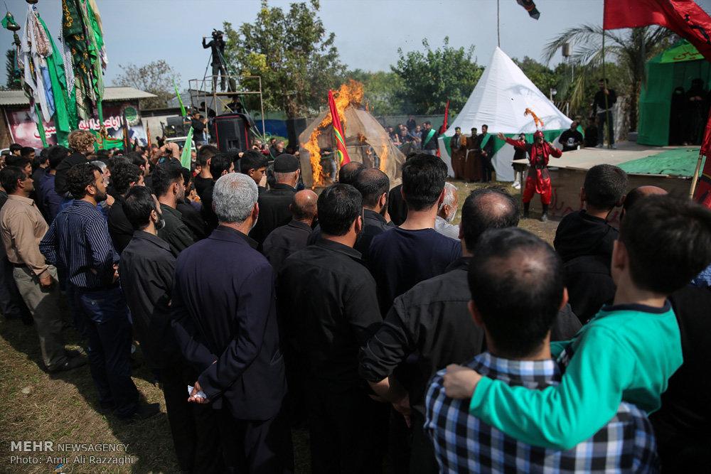 مراسم عزاداری روز عاشورا در دولت آباد و لیمون مازندران