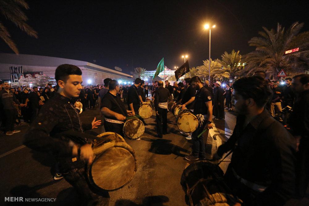 مراسم شب عاشورای حسینی در جزیره کیش