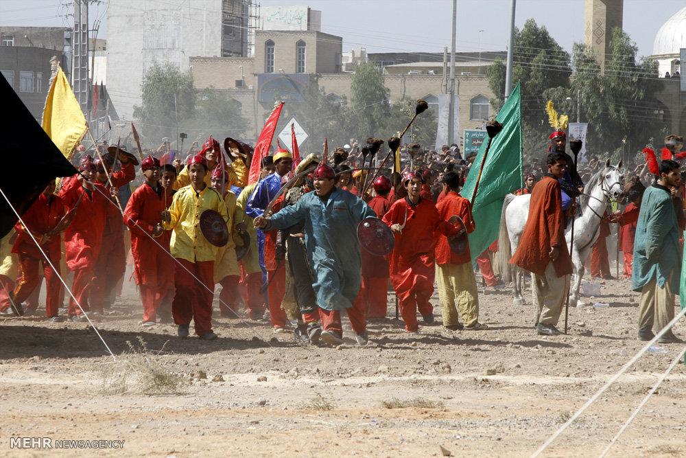 مراسم عزاداری روز عاشورا در قم