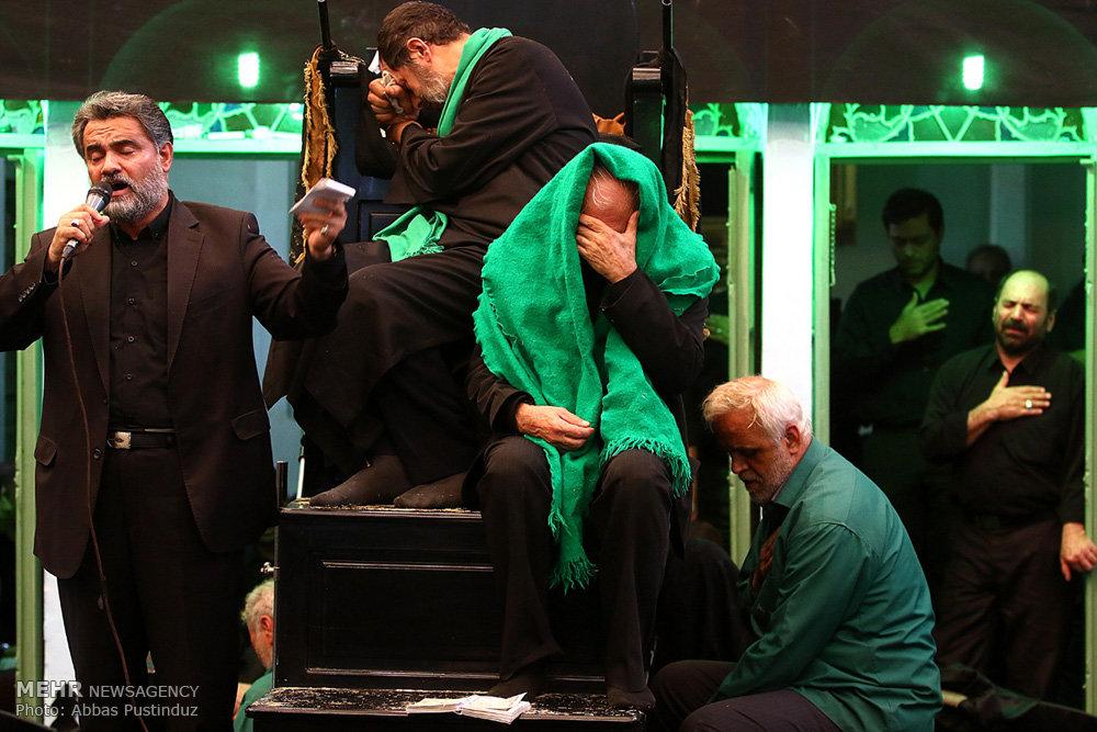 مراسم عزاداری روز عاشورا در حسینیه بنکدار اصفهان