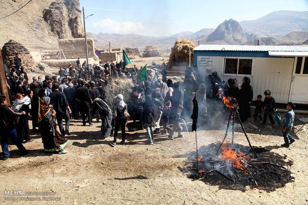عزاداری عاشورای حسینی در روستای جوشین آذربایجان شرقی