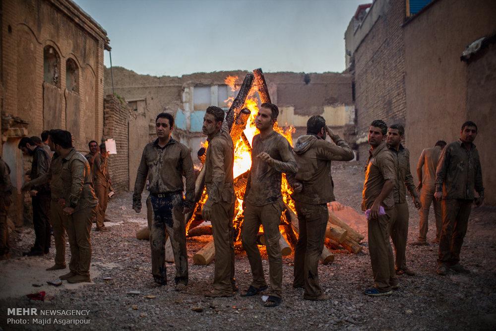 آیین سنتی سوگواری روز عاشورا در خرم آباد