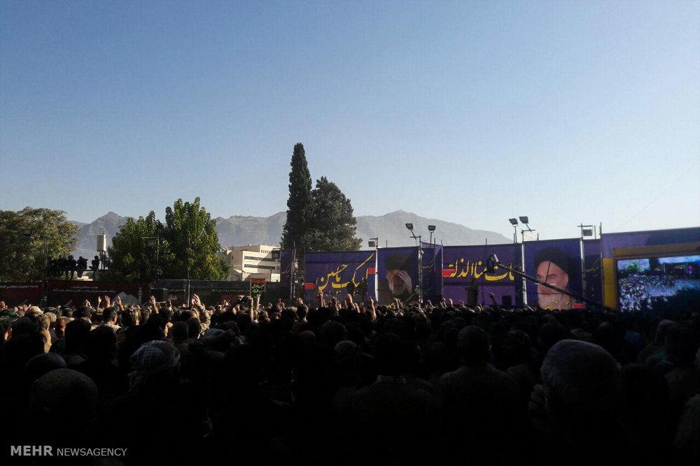 عزاداری روز عاشورا در خرم آباد