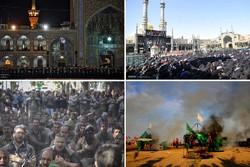 سیاهپوشی ایران در عزای حسین(ع)؛ «قصه لب تشنهات آب میکند دل را»