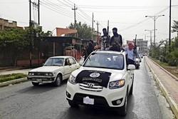 """""""داعش"""" يدعو عناصره عبر مكبرات الصوت للإنسحاب من الموصل"""