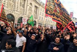 اقامة مراسم العزاء الحسيني في لندن / صور