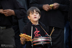 Young mourners of Imam Hussain