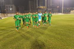 تمرین تیم فوتبال جوانان ایران