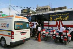 آماده باش اورژانس در پایتخت/ استقرار آمبولانس در میادین