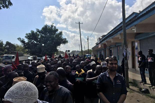 احياء ذكرى استشهاد الامام الحسين (ع) في العاصمة التنزانية دار السلام