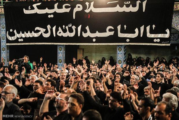 عزاداری محرم در حسینیه ایران یزد