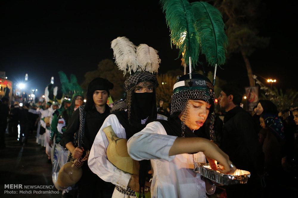 عزاداری شام غریبان در قم