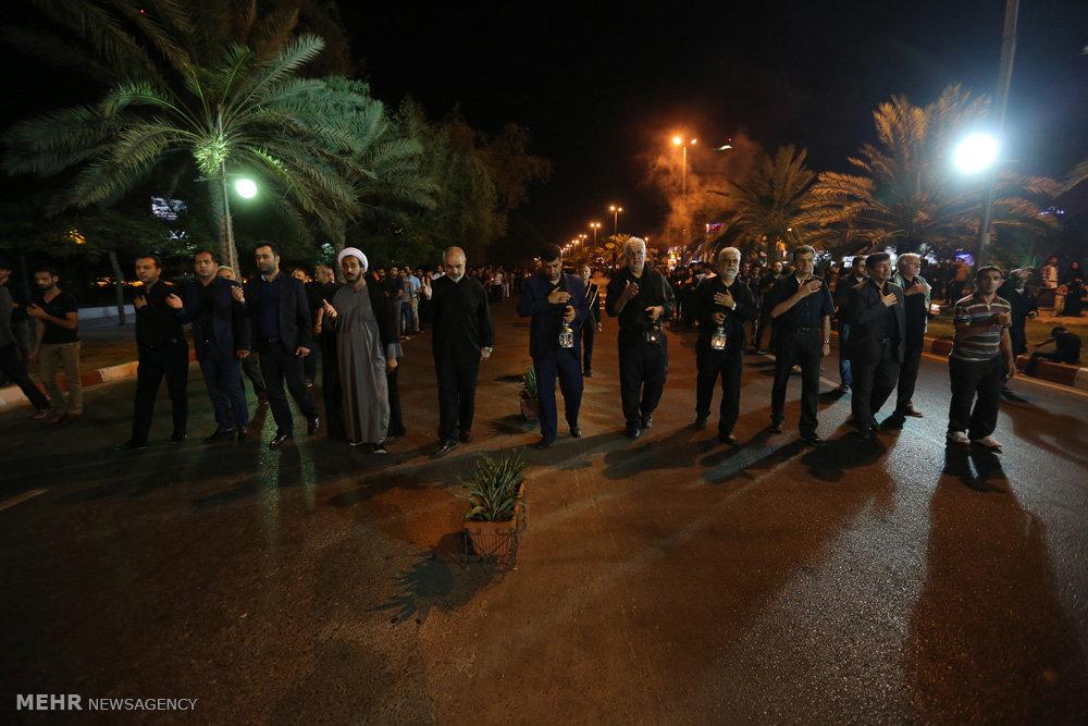 شام غریبان حسینی در جزیره کیش