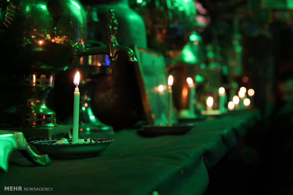 عزاداری شام غریبان در خیابان نامجو تهران