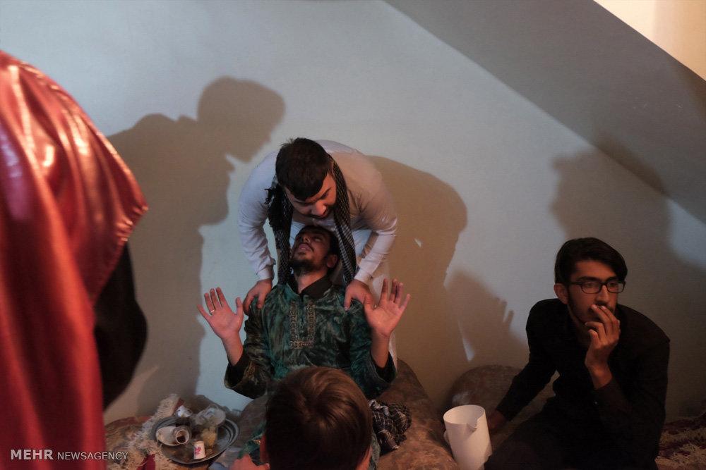 مراسم تعزیه خوانی شام غریبان در مشهد