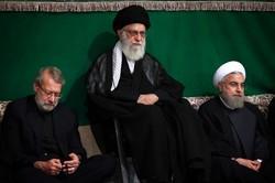 اقامة آخر ليلة من مراسم العزاء الحسيني بمشاركة قائد الثورة الاسلامية