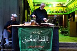تہران میں شہداء کربلا کے سوم کی مناسبت سے عزاداری