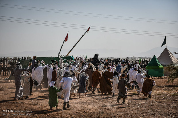 Largest ta'zieh performance in Fasa