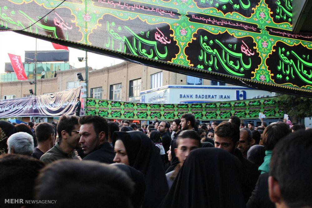 اجتماع بزرگ عزاداران حسینی در زینبیه اعظم زنجان