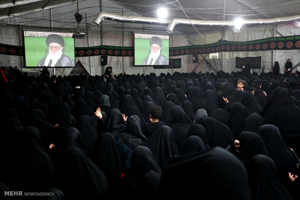 ششمین شب عزاداری ایام محرم ۱۴۳۸ در حسینیه امام خمینی