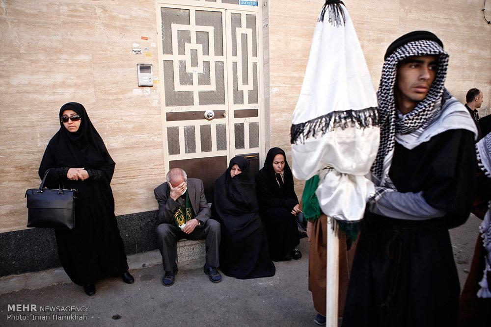 برگزاری مراسم سنتی طایفه بنیاسد در همدان