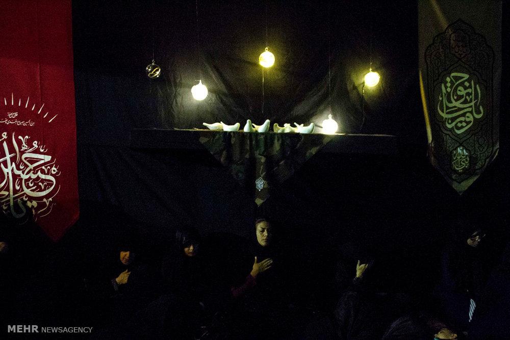 شب چهارم هیئت هنر