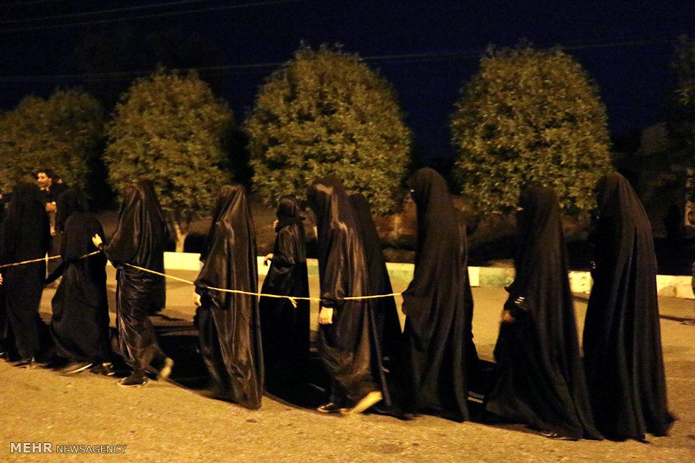 عزاداری شام غریبان امام حسین (ع) در هشت بندی هرمزگان