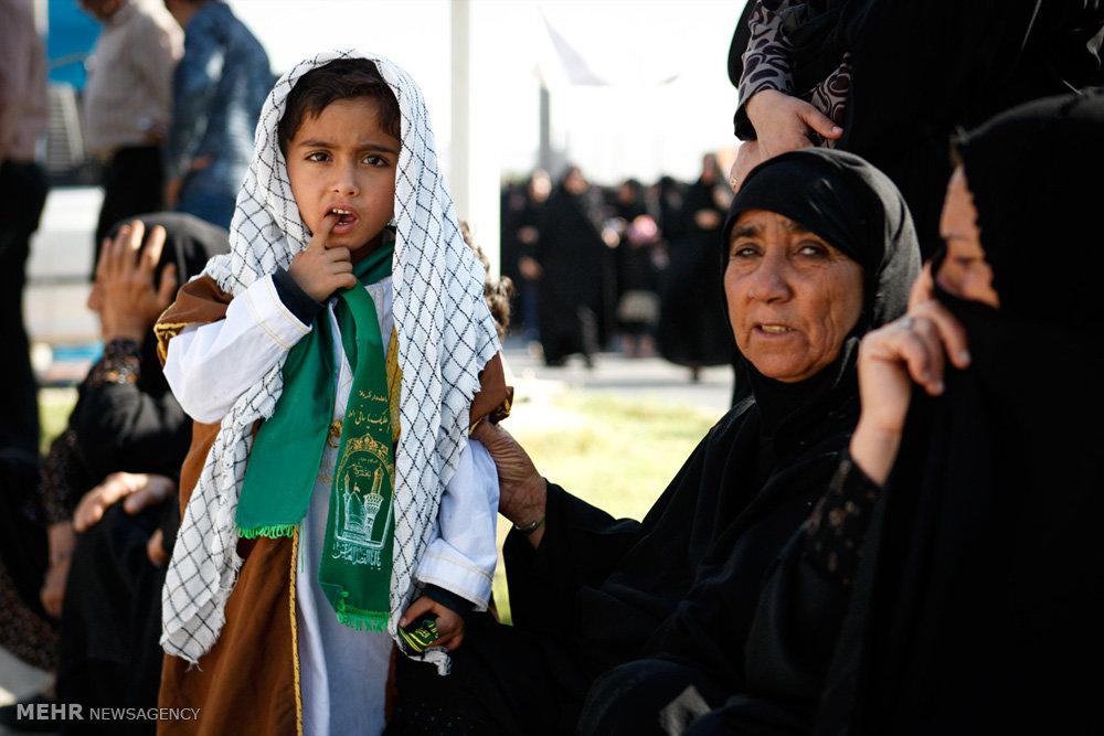کودکان در مراسم عزاداری ماه محرم