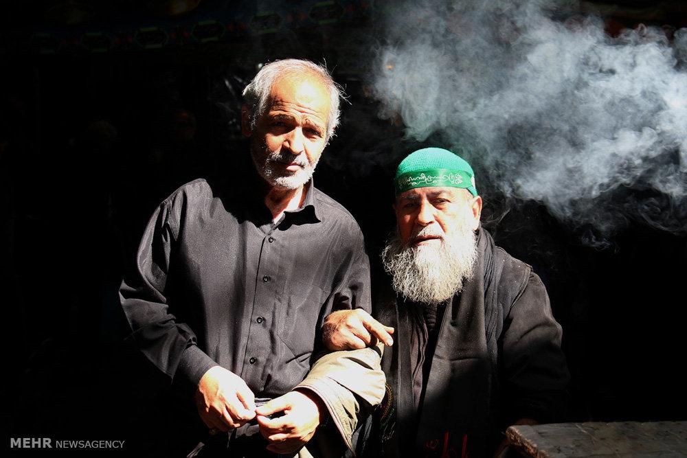 عزاداری روز سوم شهادت امام حسین(ع) در بازارِ بزرگ تهران