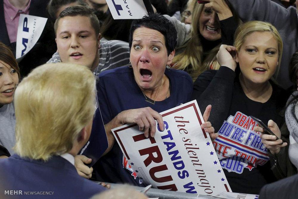 حامیان دونالد ترامپ