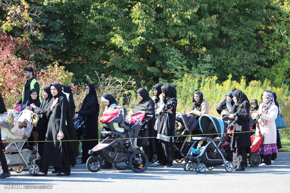 مراسم عزاداری عاشورا در تورنتو، کانادا