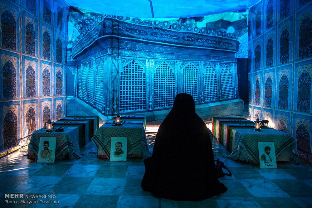 افتتاح نمایشگاه رزمی و فرهنگی یاد یاران در بجنورد