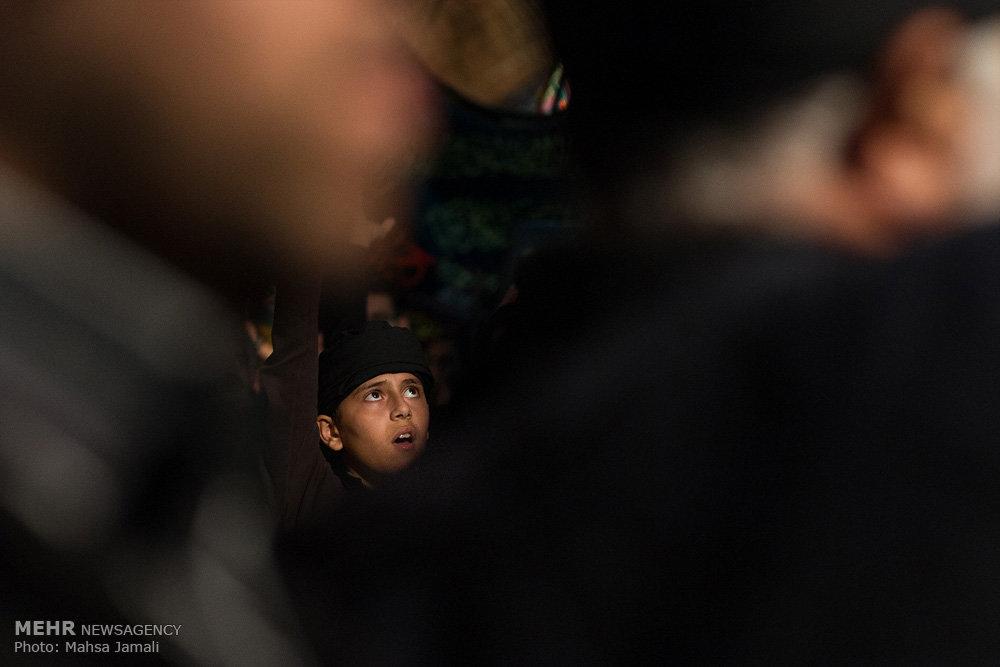 عزاداری روز سوم شهادت امام حسین(ع) در بازارِ تبریز