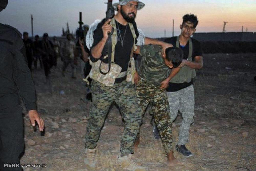 اسارت سه تک تیرانداز جبهة النصره