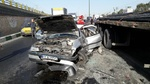 تصادف زنجیرهای۲۴ دستگاه خودرو درمحور کرج-قزوین/۷۵ نفر مصدوم شدند